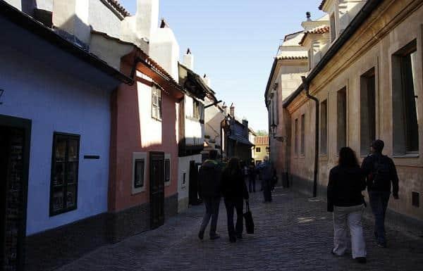 Golden Lane, Castelo de Praga