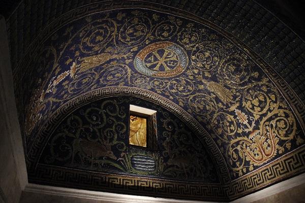 Mosaico em Ravena, Itália