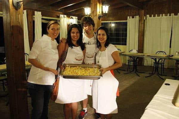Aula de culinária em Bolonha
