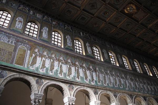 Mosaicos de Basílica em Ravena