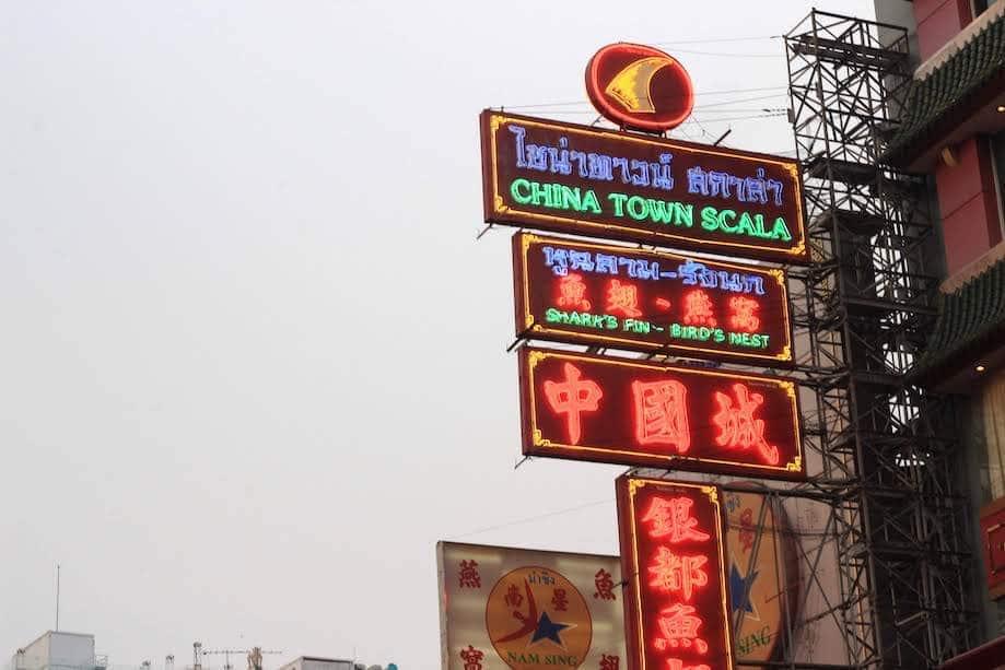 Onde ficar em Bangkok - Chinatown