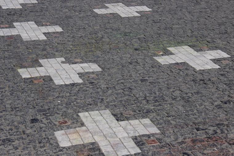 praga república Tcheca calçada