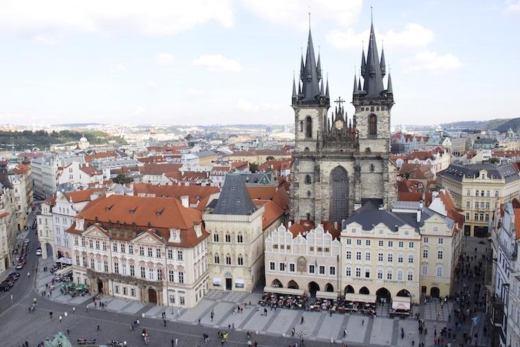 praga república Tcheca igreja
