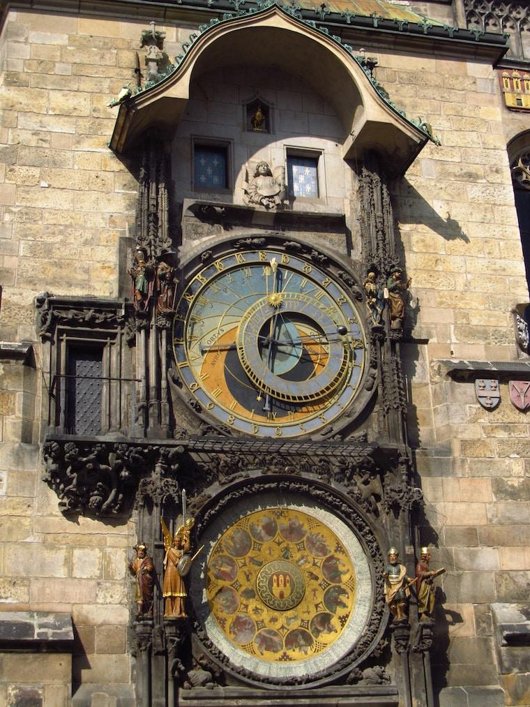 praga república Tcheca torre do relógio