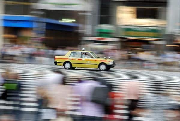 Táxi em toquio