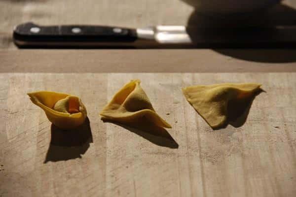 Tortelloni, massa italiana