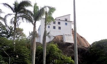O Convento da Penha, no Espírito Santo