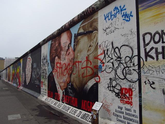 Muro de Berlim East side galery