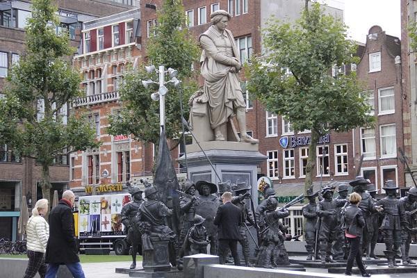 Rembrantplein, praça de Amsterdam