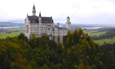 O Castelo da Cinderela que fica próximo a Munique