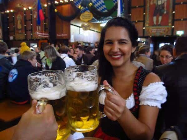 roupas Oktoberfest, Munique