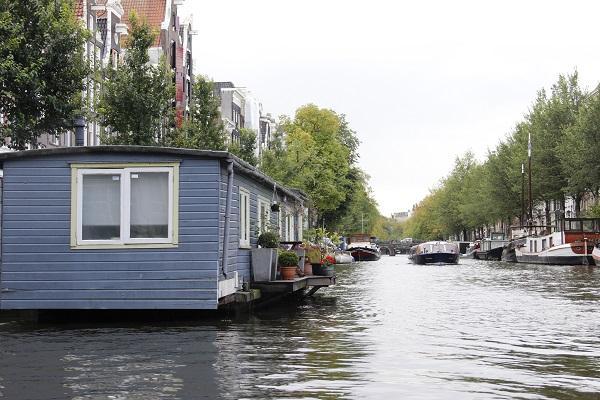 Hospedagem numa house boat