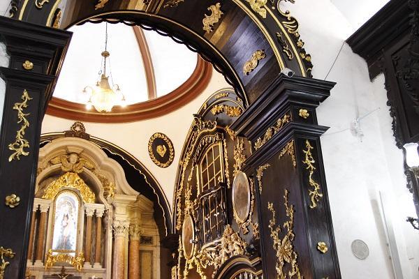 interior do Convento da Penha