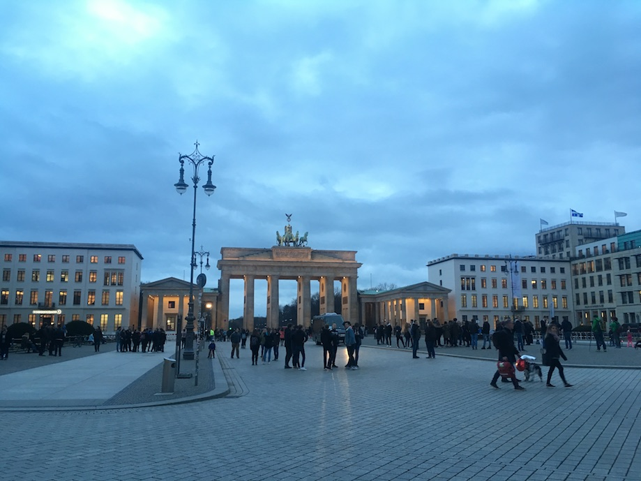 Portão de Branderburgo, em Berlim