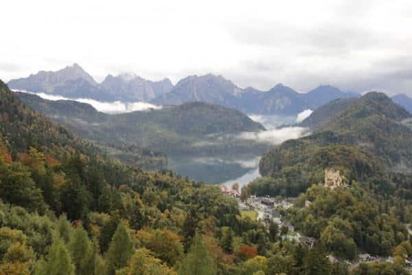 vista Hohenschwangau