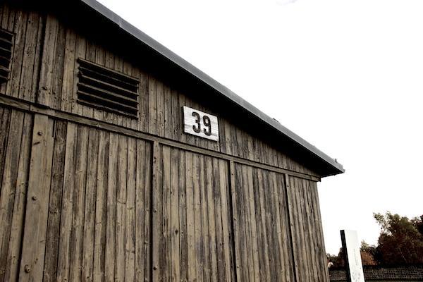Barraca Campo Nazista, em Sachsenhausen