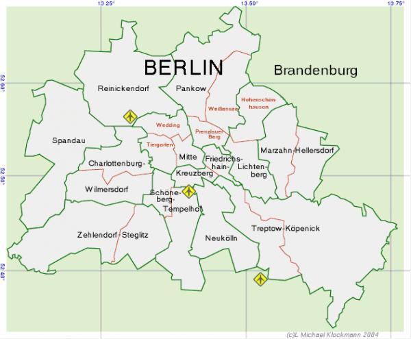 Onde ficar em Berlim: Regiões de Berlim, Alemanha