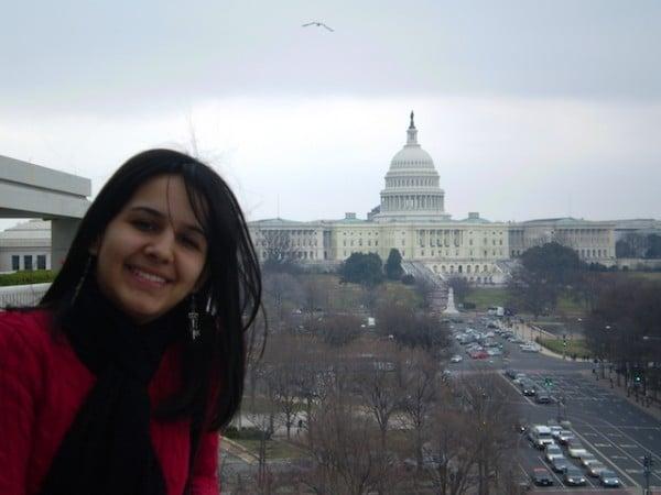 Mulher viajar sozinha EUA