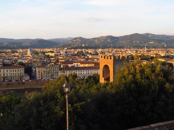 Onde ficar em Florença - Piazalle Michelangelo