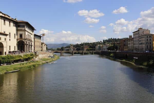 Onde ficar em Florença - Rio Arno