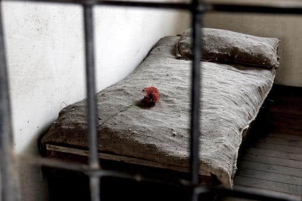 Prisão no campo de Berlim (Sachsenhausen)