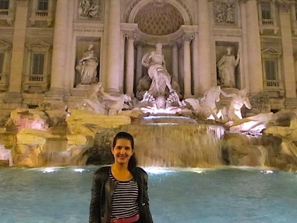 mulher viajar sozinha roma