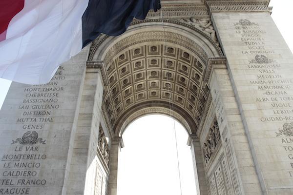Visita Arco do Triunfo