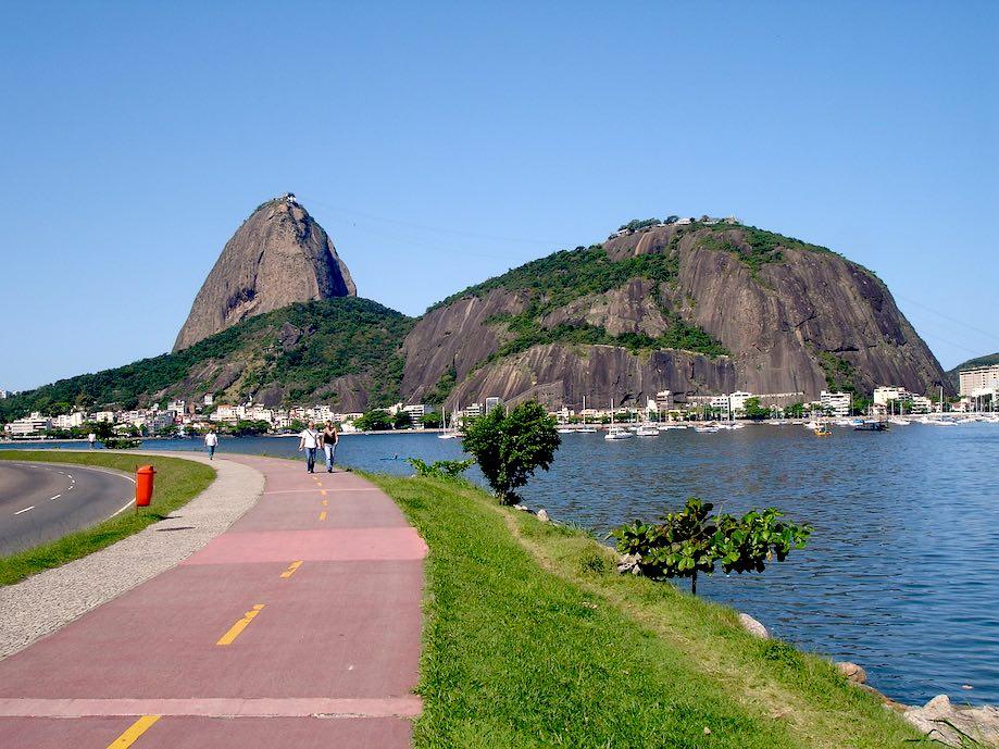 Ciclovias em Botafogo e Flamengo