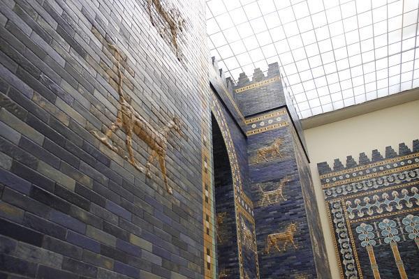 Portão de Babilônia, em Berlim