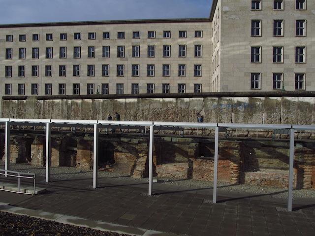 Muro de Berlim topografia do terror