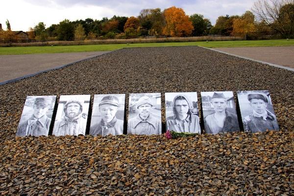 vitimas do campo de concentração - Sachsenhausen
