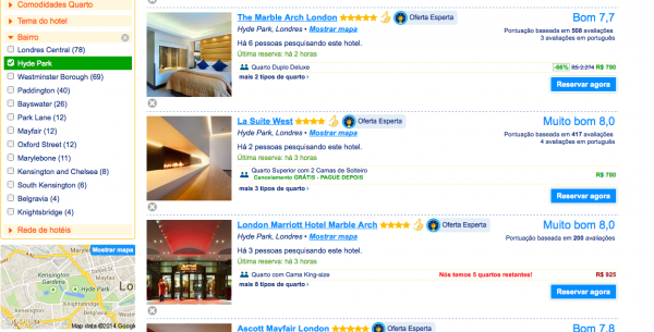 Como reservar hotéis pela internet
