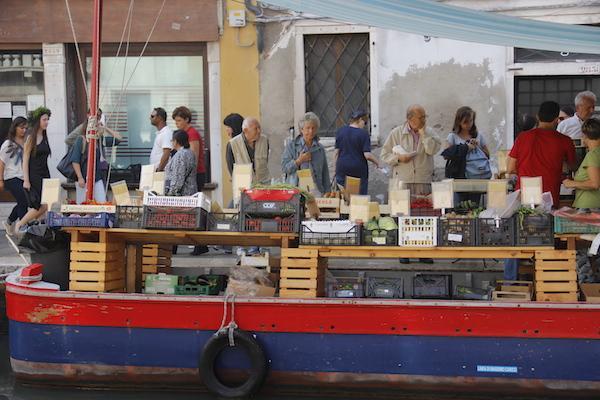 Mercado em Veneza