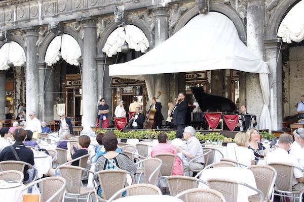 Restaurante fino em Veneza