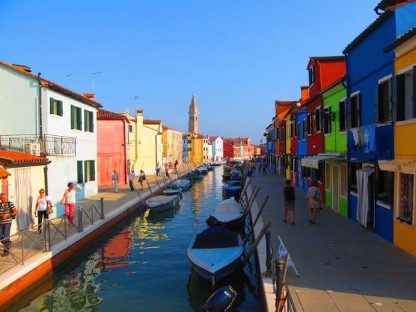 ilhas de veneza burano central