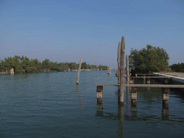 ilhas de veneza torcello pantano