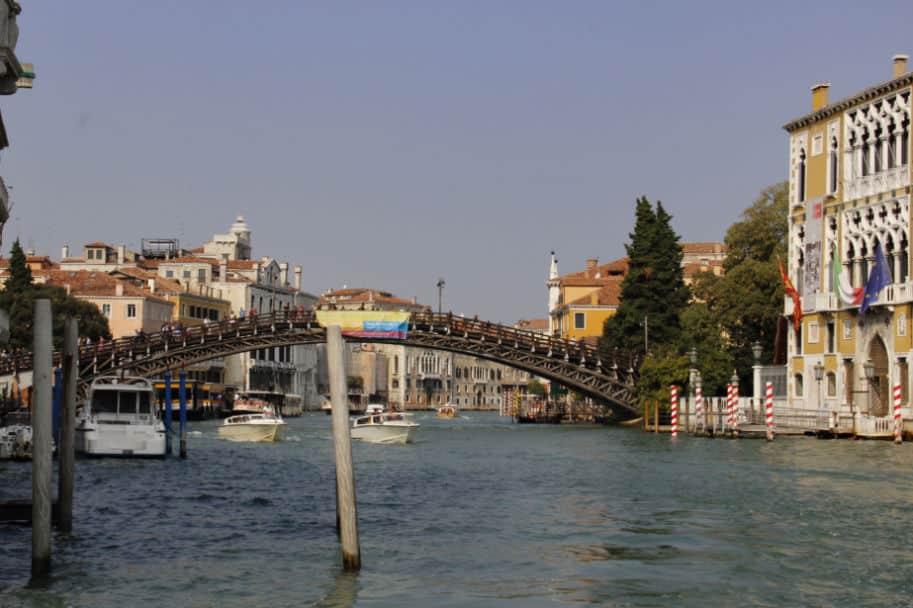ponte della academia e galeria veneza