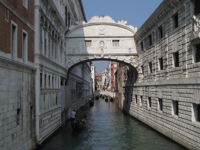 Pontes dos Suspiros, Veneza