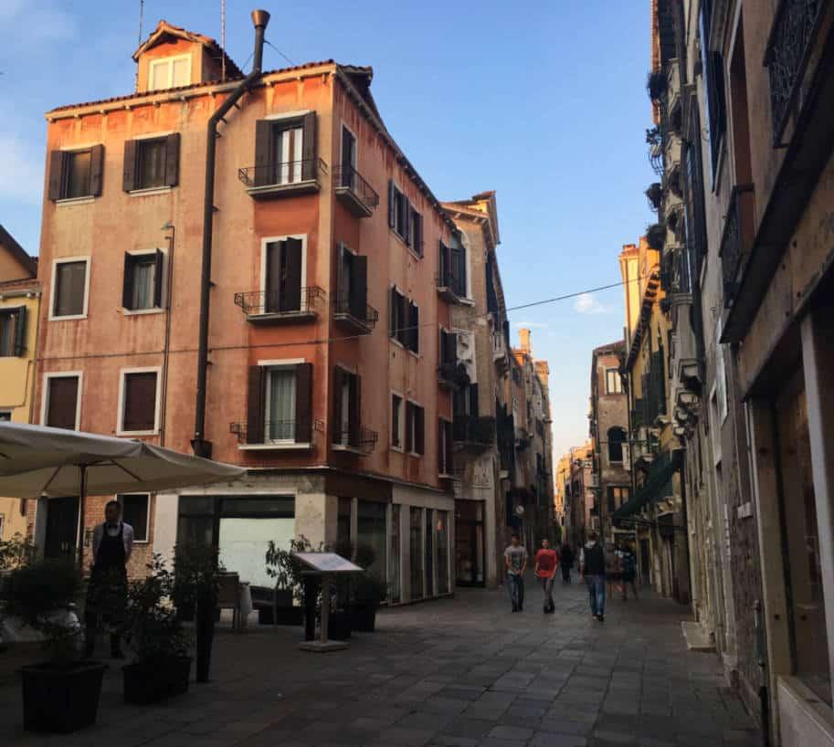 ruas de veneza italia roteiro