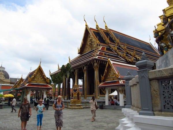 templo buda emeralda, Grande Palácio Real de Bangkok