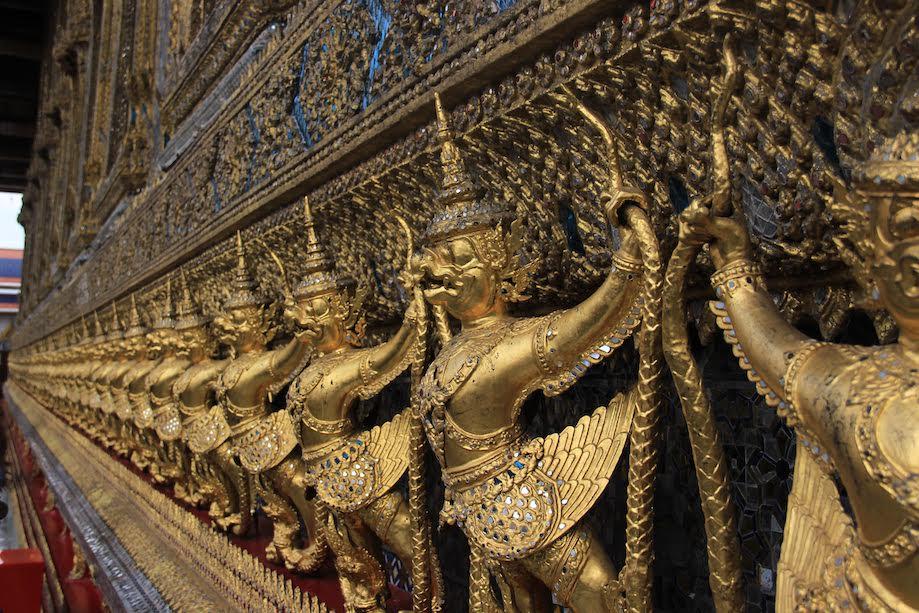 Templos do Palácio Real de Bangkok