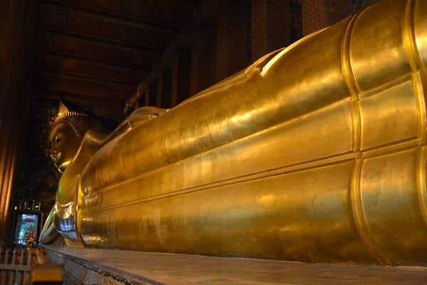 Templo do Buda Reclinado, Tailândia
