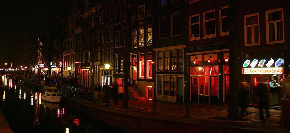 O Red Light District e a prostituição em Amsterdam