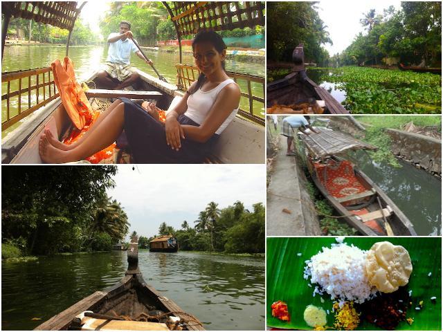 backwaters kerala meu passeio de barco