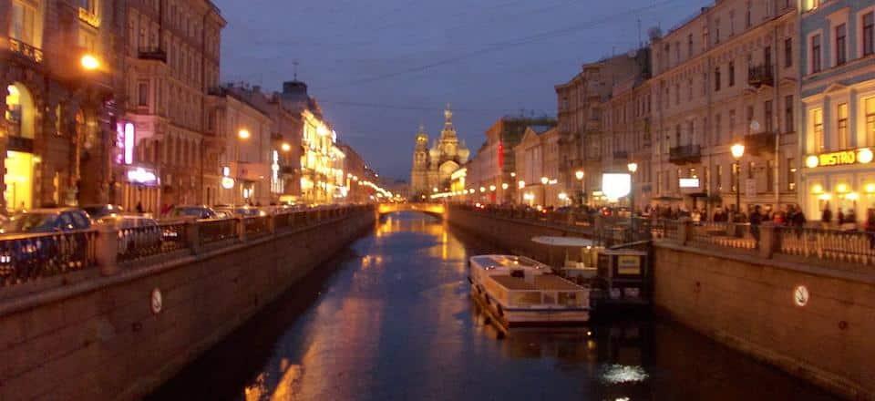 Canal Griboyedov são petersburgo