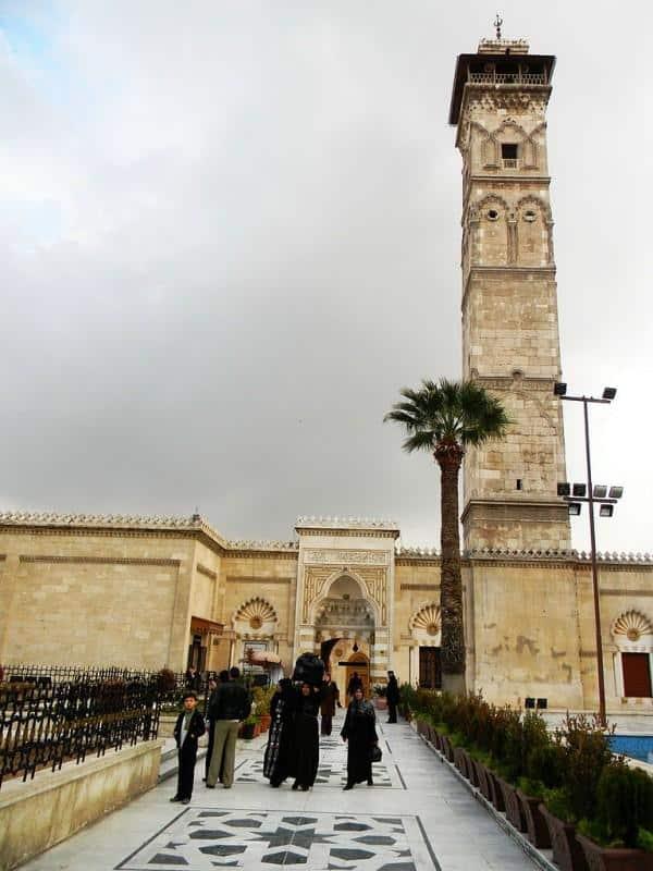 Mesquita de Alepo, Síria
