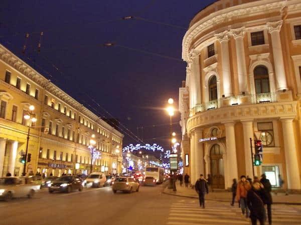 Nevsky Prospekt são petersburgo