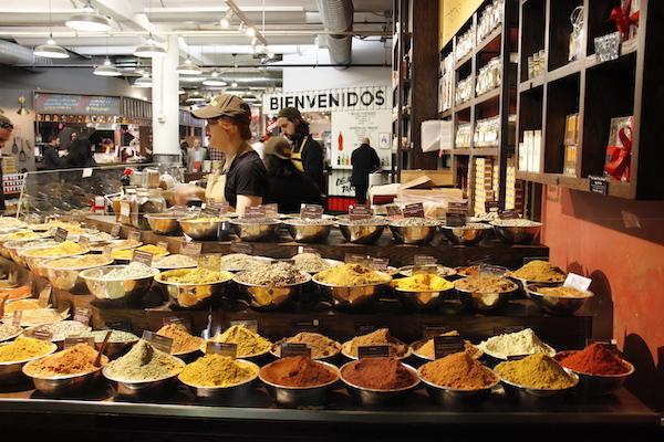 Temperos no Chelsea Market NYC