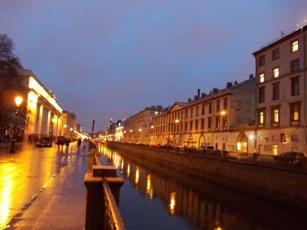 canal são petesburgo