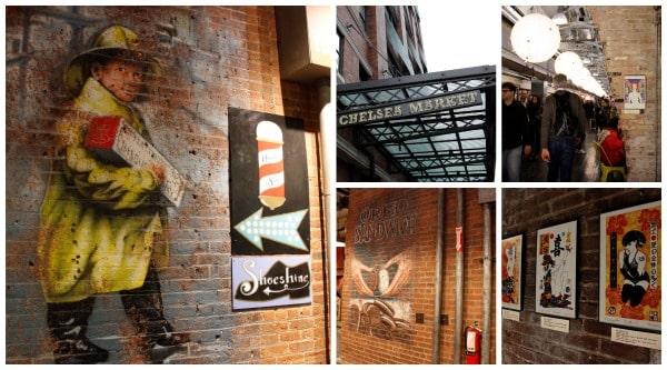 Roteiro em Nova York: chelsea market